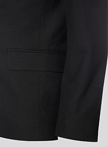 Boy's Black Stain Resistant Blazer (10-16 years)