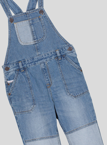 Blue Denim Dungarees (9 months - 6 years)