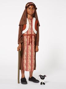 Brown Christmas Shepherd Costume (3-10 years)