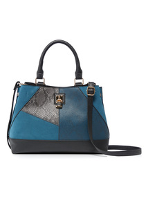 Multicoloured Patchwork Bag