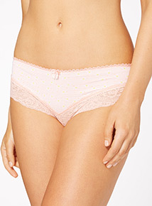 Lace Brazilian Briefs 3 Pack
