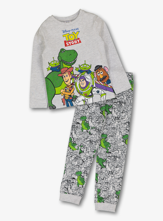 Kids Disney Toy Story Grey Pyjamas (1-7 years)  0c9623407