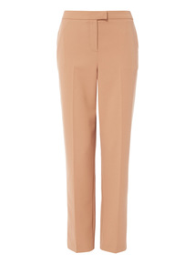 Camel Tapered Trousers