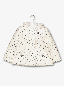 White Dots Coat (9 months - 6 Years)