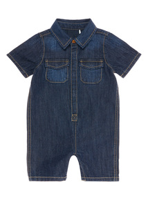 Denim Romper (0 - 24 months)