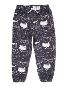 Charcoal Cool Kitten Harem Trousers (9 months - 6 years)