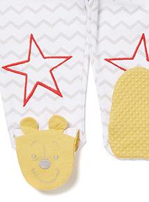 Multicoloured Disney Winnie The Pooh Pyjamas (0-12 months)