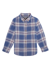 Boys Multicoloured Check Shirt (3-12 years)
