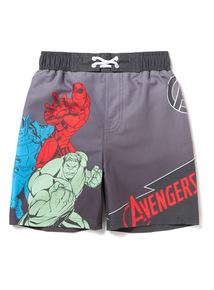 Marvel Avengers Black Swim Shorts (3-12 years)