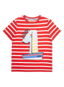 Boys Multicoloured 'I Am 1' T-shirt (9 months-2 years)