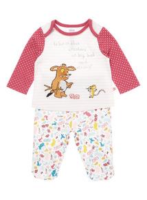 Pink Gruffalo Pyjama Set (0-24 months)