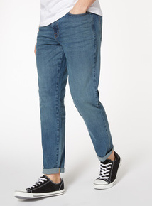Light Denim Wash Slim Jean