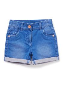 Blue Denim Shorts (3-14 years)
