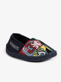 Online Exclusive Navy Harry Potter Slippers (10 Infant - 3 Child)